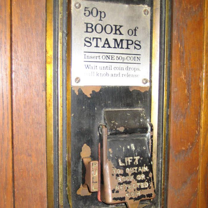 Stamp vending machine