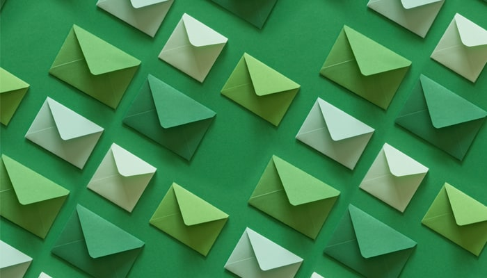 Green direct mail